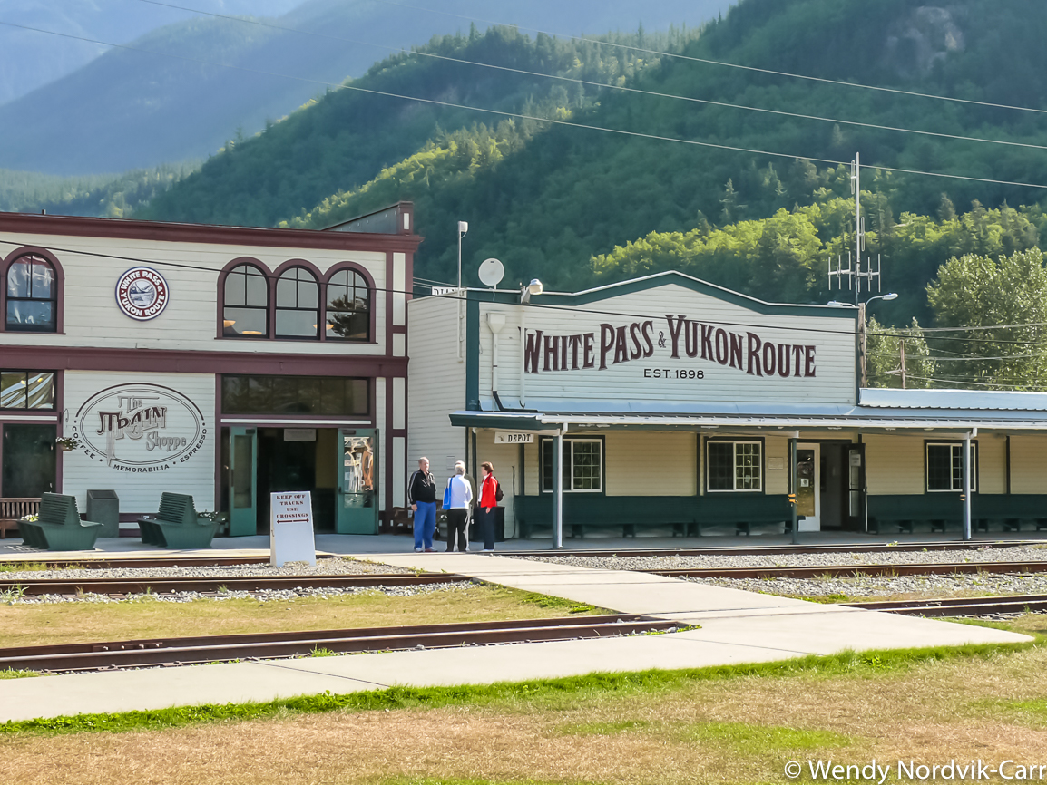 Take a ride one one of the most scenic railroads in North America, White Pass and Yukon railway. Discover the breathtaking scenery of Alaska wilderness. Explore top things to do while in Skagway. Photo Credit: Wendy Nordvik-Carr