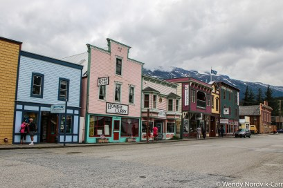 The historic streets of downtown Skagway. Discover the breathtaking scenery of Alaska wilderness. Explore top things to do while in Skagway. Photo Credit: Wendy Nordvik-Carr