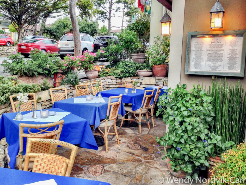 Carmel by the Sea is a romantic getaway. We dined at cozy