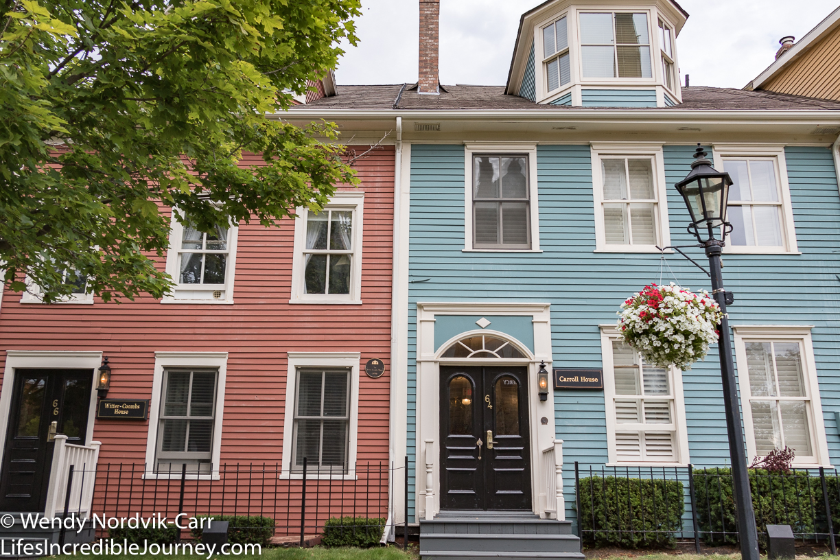 Great George Street National Historic Site in Charlottetown is one of the most important streets in all of Canada. In 1864 The Fathers of Confederation (23 elected officials) walked the street to Province House to attend the Charlottetown Conference which set in motion plans for the Confederation of Canada. Photo Credit: Wendy Nordvik-Carr©