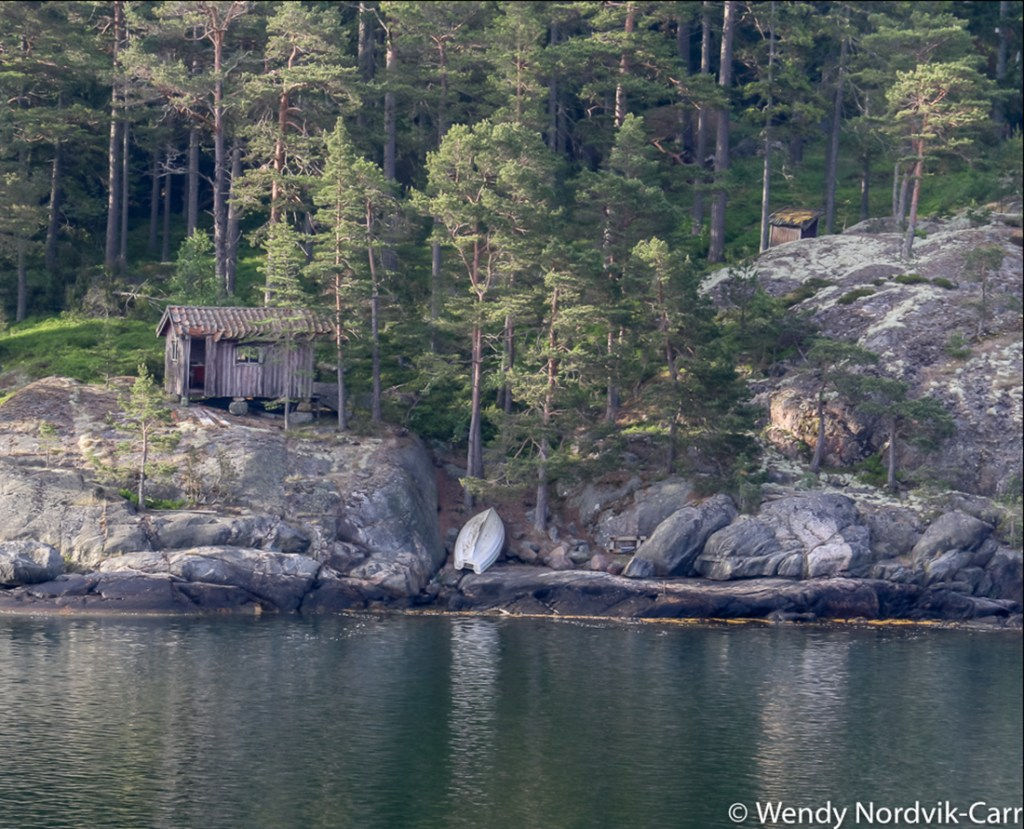 The world's largest group of islands in Archipelago National Park vary in size. Baltic cruise ships glide slowly as they navigate their way through the intricate network of islands in the waters between Helsinki, Finland and Stockholm, Sweden. Photo Credit: Wendy Nordvik-Carr©