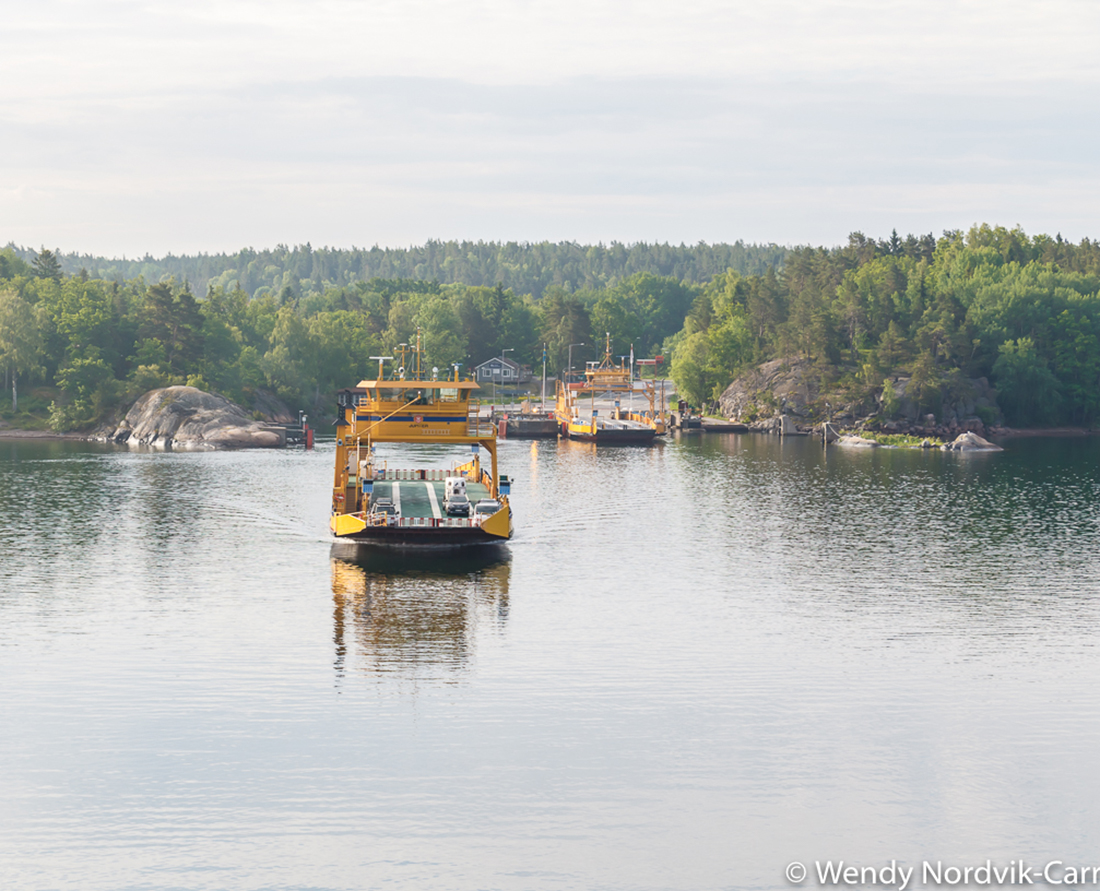 The world's largest group of islands in Archipelago National Park vary in size. The rural countryside is speckled with large and small homes, boat houses and charming small villages. The main larger islands offer ferry service. Photo Credit: Wendy Nordvik-Carr©
