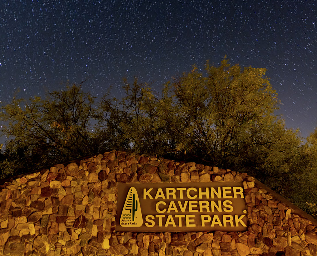 Night Skies of Kartchner Caverns Photo Courtesy of Kartchner Caverns State Park, Arizona©