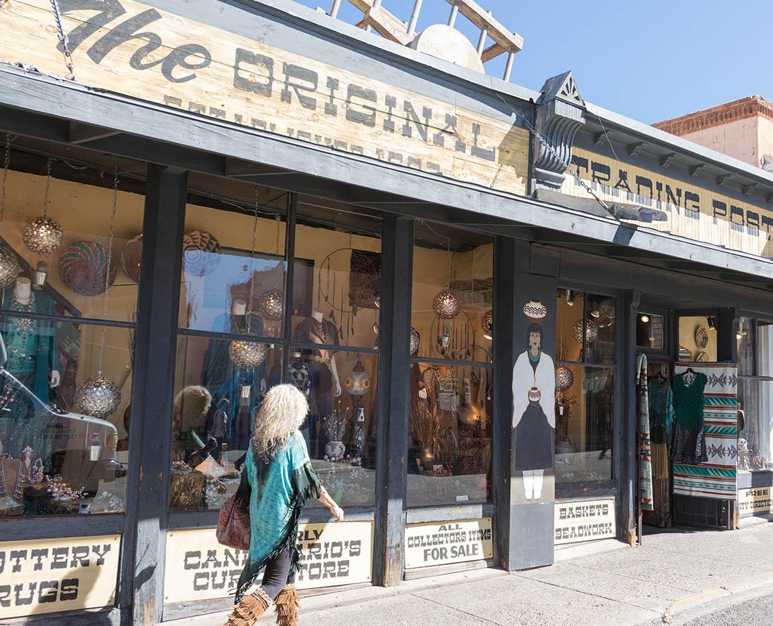 The Original Trading Post in Santa Fe, New Mexico. Photo: Wendy Nordvik-Carr©