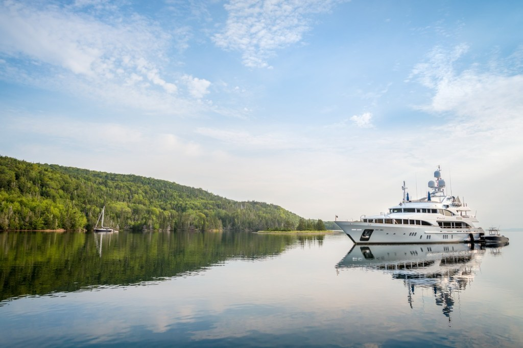 Top things to do Sydney, Nova Scotia. Visit Maskell's Harbour on Bras d'Or Lake. Photo Credit: Tourism Nova Scotia©