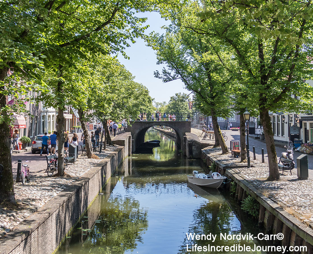 The picturesque town of Edam has 17th century architecture along its historic streets and canals. Once a shipbuilding town, Edam is world famous for its cheese. Edam is located in the northern Dutch countryside near Amsterdam. Photo Credit: Wendy Nordvik-Carr©