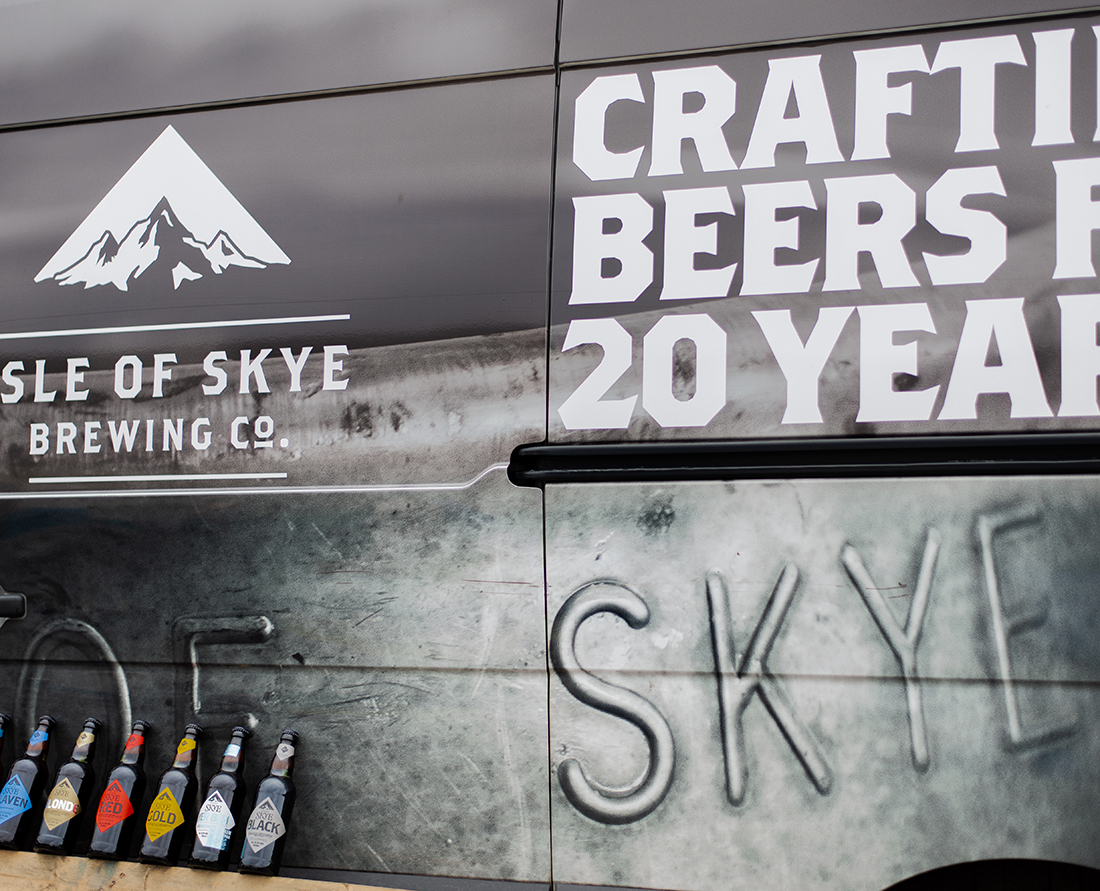 Discover craft beer at the Isle of Skye Brewing Company.