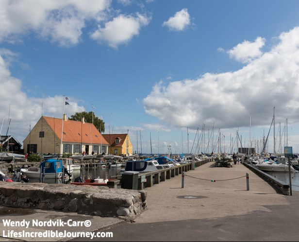 The picturesque harbour of Dragør also features quaint shops, cafes and restaurants. Photo Credit: Wendy Nordvik-Carr©
