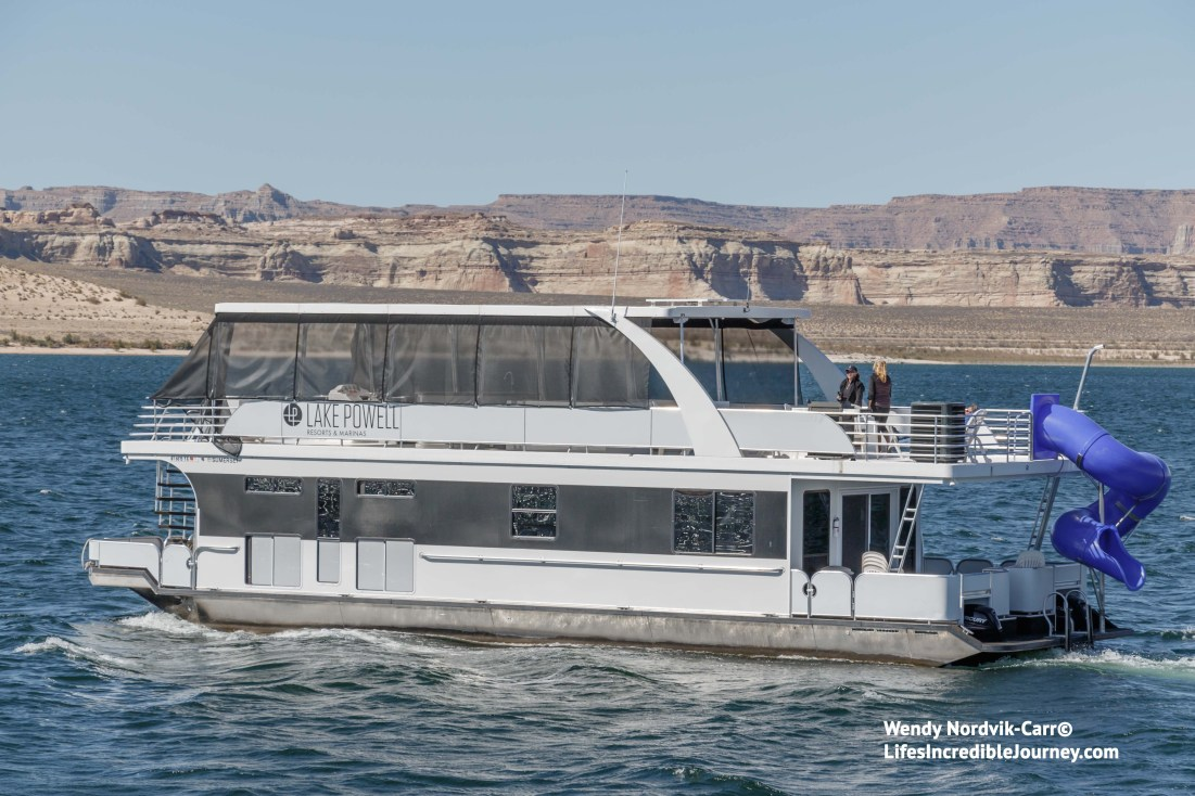 Housboat rentals are offered at Lake Powell Resort and Marina. Photo Credit: Wendy Nordvik-Carr©
