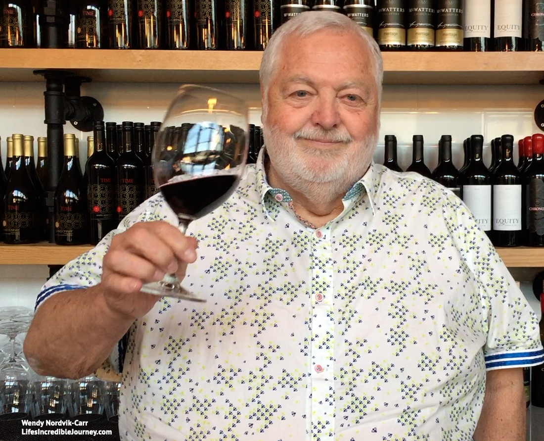 Discover travel destinations. Harry McWatters, pioneer of BC wine industry dies at age 74. Photo Credit: Wendy Nordvik-Carr©