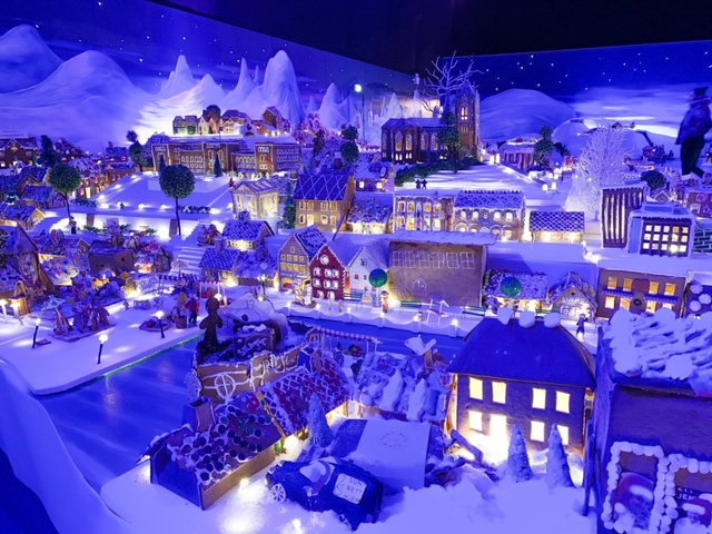 World's largest gingerbread house display found in Bergen, Norway. Photo Credit: Wendy Nordvik-Carr©