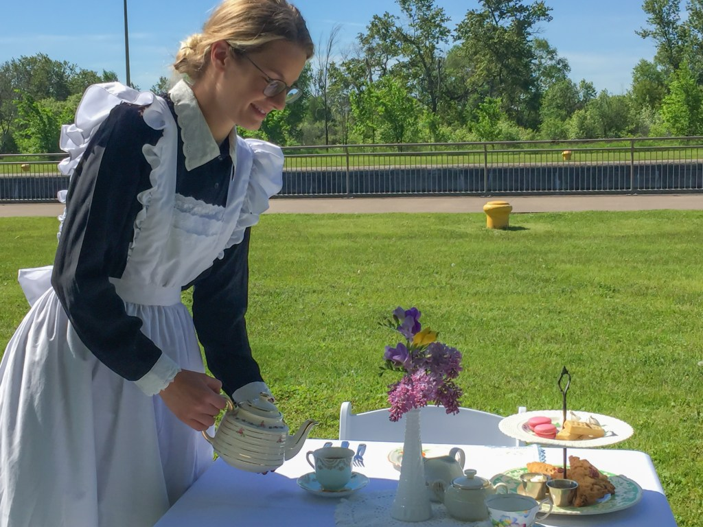 Top things to do in Sault Ste. Marie - enjoy a historic afternoon tea. Photo Credit: Wendy Nordvik-Carr©