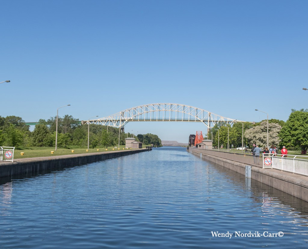 Sault St. Marie Canal was once the longest canal in the world. Photo: Wendy Nordvik-Carr©