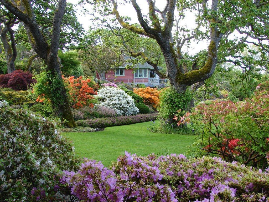 Beautiful Abkhazi Gardens in Victoria. Photo Credit: Destination Greater Victoria©