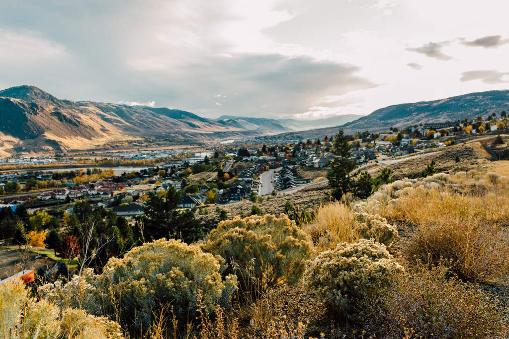 Downtown Kamloops, just off of Columbia Street at the Scenic Lookout at the Panorama Inn Destination BC, Tanya Goehring