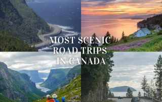 Top 10 scenic drives in Canada that will leave you in awe.