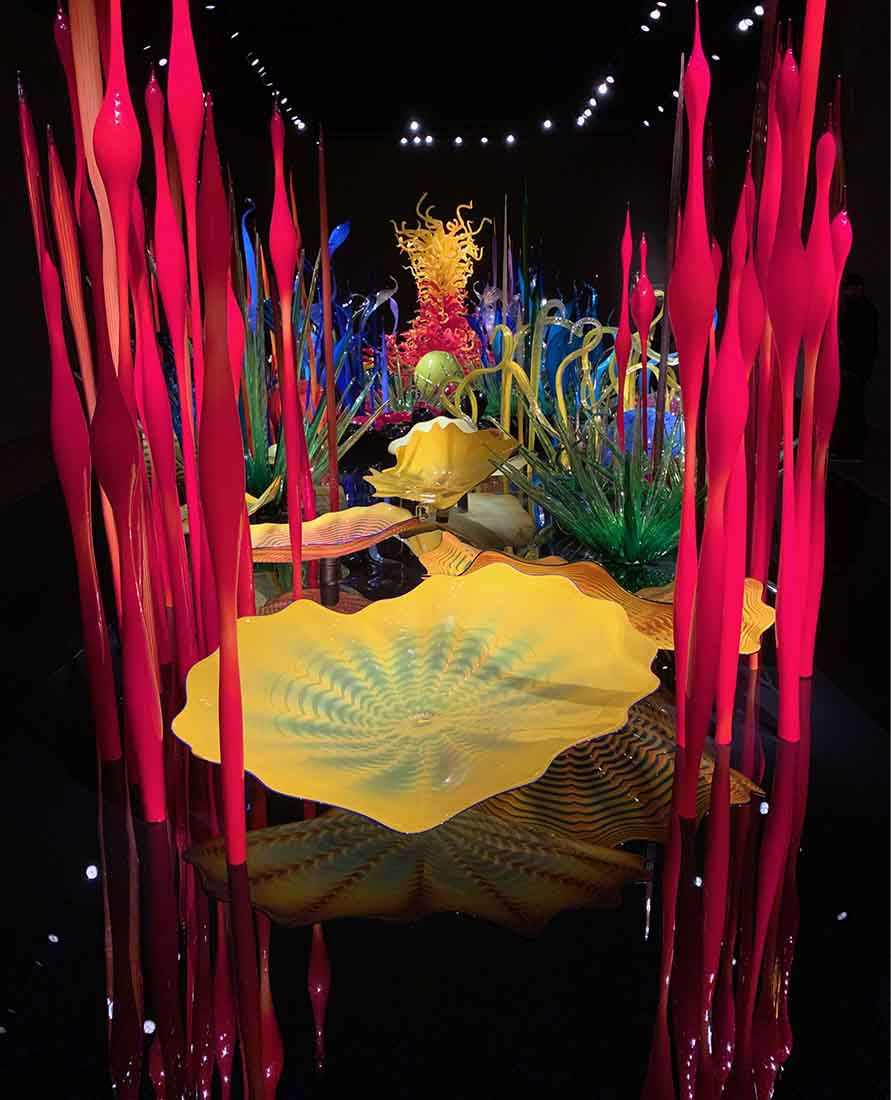Mille Fioli, Chihuly Gardens and Glass, Seattle, Washington.