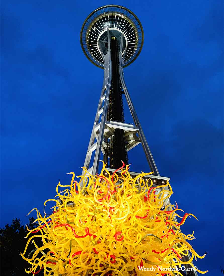 Refract Seattle Glass Art at Seattle Center Chihuly Gardens and Glass Space Needle