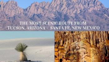 Most scenic route from Tucson to Santa Fe