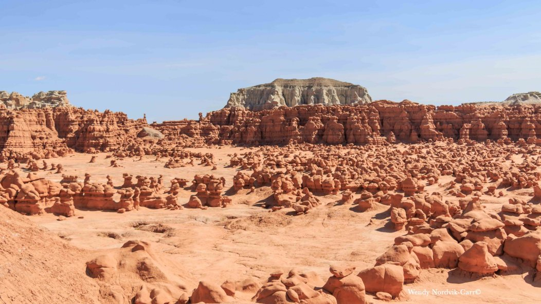 The dense covering of Goblin Valley hoodoos Most scenic route from Moab through the Canyonlands to Bryce Canyon 9466 scaled