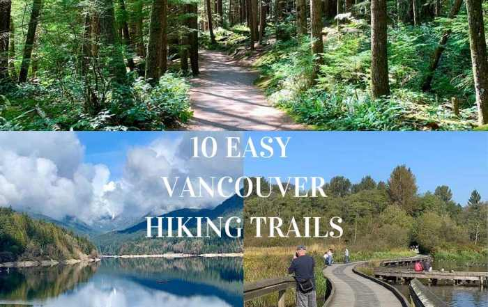 10 Easy Vancouver Hiking Trails to explore and de-stress