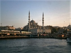 Galata Bridge and New Mosque, Istanbul