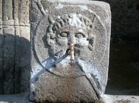 Water tap in Pompeii