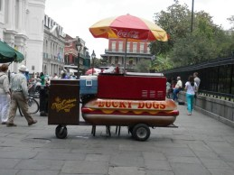 Lucky Dog food cart