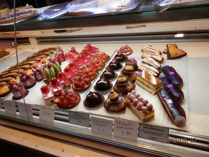 Pastry shop around the corner
