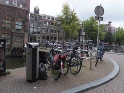 Bikes are everywhere