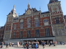 Central Station in Dam Square