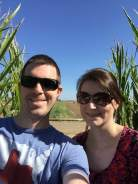 Corn maze selfie