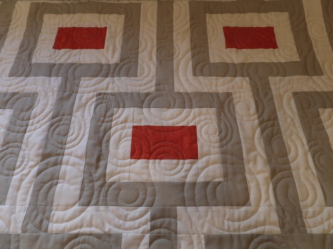 Quilting all done!