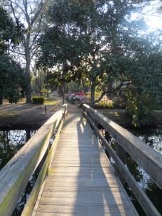 Bridge to the chapel