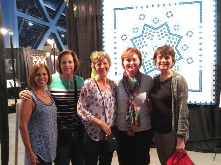 Toni, me, Tina, Loretta and Gwenn