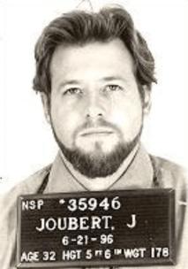 Joubert's mug shot
