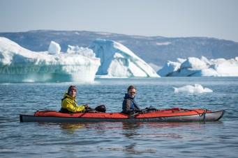 Nos kayaks!