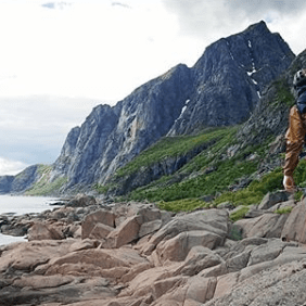 Randonnée Lofoten, Norvège