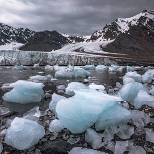 Glacier Spitzberg, Svalbard