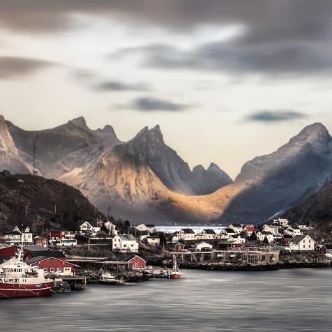 Port Lofoten Norvege