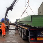 3m wide cycleway bridge delivered