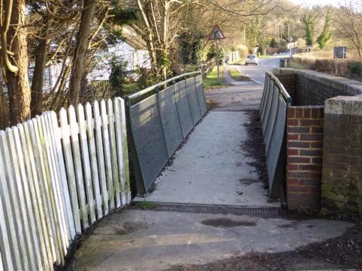 FRP Footbridge at Sedlescombe