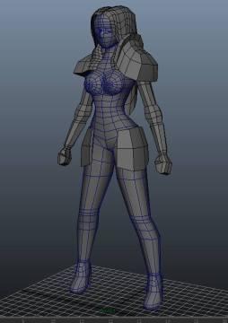 Yale - Delia Third 3D Model Pass (2)