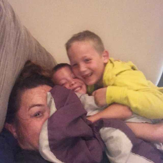 Monkey Pile cuddling