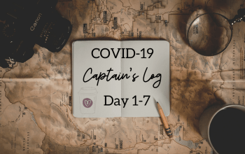 The Coronavirus Captain's Log: Day 1-7