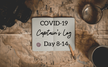The Coronavirus Captain's Log: Day 8-14