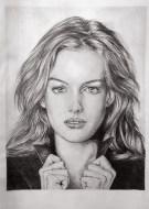 Portrait study - front view