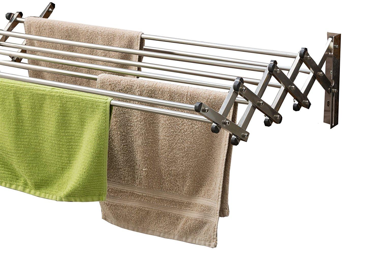 folding chair storage rack nursing rocking 41 crazy easy ideas for organizing the laundry room life