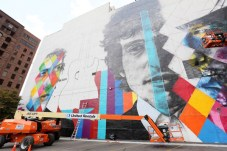 Bob Dylan Mural 8