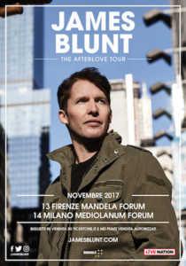 James Blunt Tour 2017